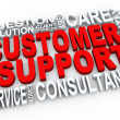 3d customer support — Stock Photo #11560017