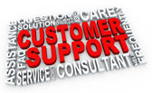 3d customer support — Stock Photo