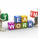 3d team work — Stock Photo #11747661