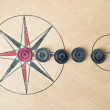 Carrom board — Stock Photo #11456780