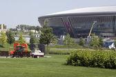 Se prepara el estadio donbass arena — Foto de Stock