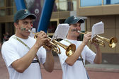 Trumpeters — Foto Stock