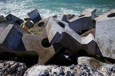 Dolos, betonnen blok — Stockfoto