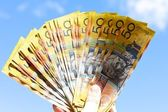 Australian dollars — Stock Photo