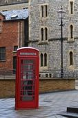 London, Phone Booth — Stock Photo