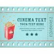Movie Ticket — Stock Vector #10735437