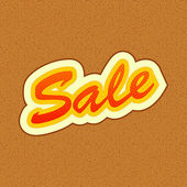 Sale Tag — Vector de stock