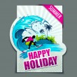 Royalty-Free Stock Vector Image: Happy Holiday