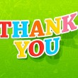 Thank You — Vector de stock #10947637
