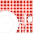 Stock Photo: Cutlery with Dish