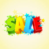 Colorful Sale — Stock Photo