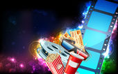 Cinema Background — Stock Vector