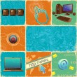 Royalty-Free Stock Vector Image: Technology Collage