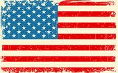 Retro American Flag — Stock Vector