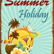 Summer Holiday — Image vectorielle