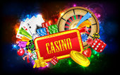 Casino Background — Stok Vektör