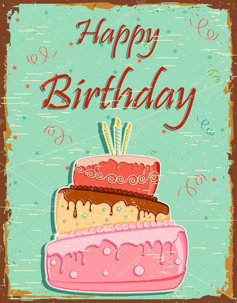 Happy Birthday Retro Images Retro Happy Birthday