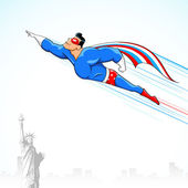 アメリカのスーパー ヒーロー — ストックベクタ