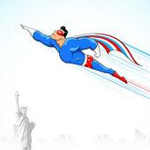 Amerykański super bohater — Wektor stockowy