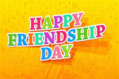Happy Friendship Day — Vecteur