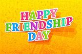 Journée de l'amitié heureux — Vecteur