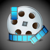 Film Reel — Stock Vector