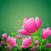 Fresh Flower — Stock Vector