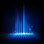 Abstrakte binäre hintergrund — Stockvektor