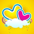 Stock Vector: Love Cloud