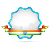 India Badge — Stock Vector