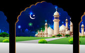 Eid Mubarak — Stock Vector