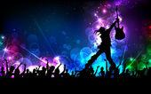 Estrela do rock — Vetorial Stock