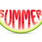 Summer Watermelon — Stock Vector #12006868