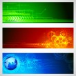 Technology Banner — Stock Vector #12071552