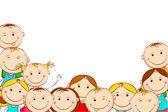 Happy Kids — Stock Vector