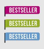 Modern label – bestseller — Stock Vector
