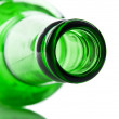 Green and glass bottle — Stock Photo #12058110