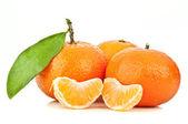 Fresh orange mandarin — Stock Photo