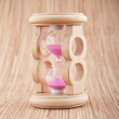 Stock Photo: Retro hourglass