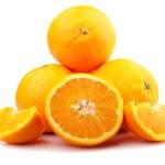 Fresh orange fruit — Stock Photo