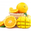 Fresh orange fruit — Stock Photo #12102825