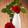 Beautiful red rose — Stock Photo #12103599