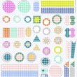 Set of cute scrapbook elements. vector — Stock Vector #10808530