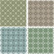 Royalty-Free Stock Vector Image: Big vintage plaid patterns set vector background