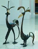 Sculpture in bronze — Fotografia Stock