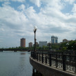 Embankment in Donetsk - Stock Photo