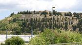 Panoramic of Montjuïc's cemetery — Stock Photo