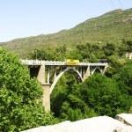 Bridge of the station of Montserrat's cable car — Stock Photo #11313589