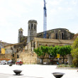 Panoramic of El Arbós with Sant Julia's Church — Stock Photo #11942901