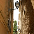 Narrow alley of El Arbós — Stockfoto #11944608